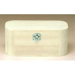 Boîte en bois rectangulaire