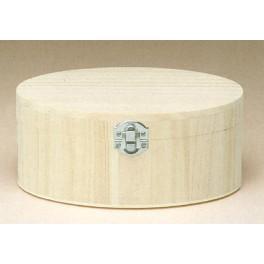 Boîte en bois ovale