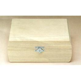 Boîte en bois carrée