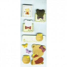 Décoration nounours et miel