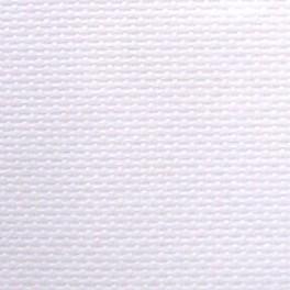Coupon toile Aïda 7 Blanche 49 x 50 cm