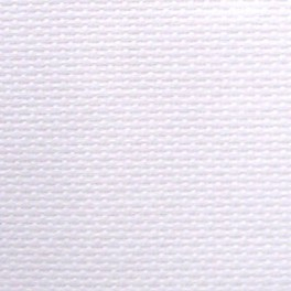 Coupon toile Aïda 5,5 Blanche 45 x 45 cm