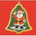 Père Noël et son cadre doré