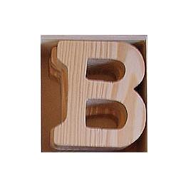 Lettre en bois : B