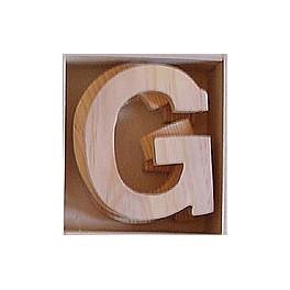 Lettre en bois : G