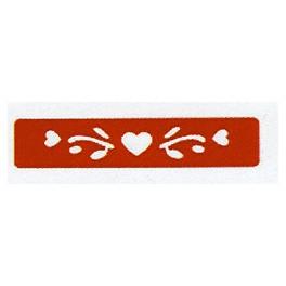 Perforatrice bordure 3 coeurs