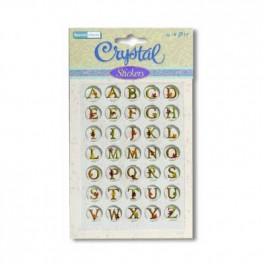 Stickers alphabet majuscule