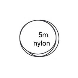Carte nylon 0.22 5 mètres transparent