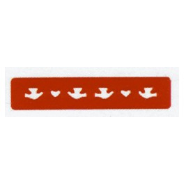 Perforatrice bordure oiseaux