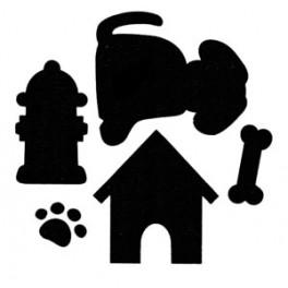 Perforatrice jumbo thème chien