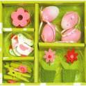 Set de Pâques rose