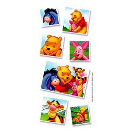 Autocollants Winnie et ses amis