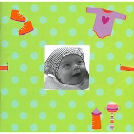 Mini album naissance hochets