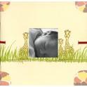 Mini album naissance girafe