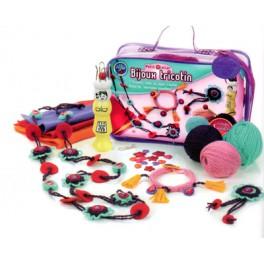 Petit atelier bijoux tricotin feutrine