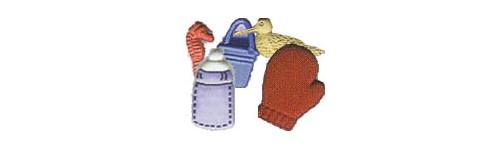 Boutons et décorations