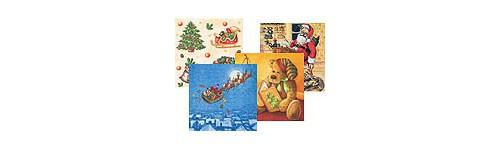 Serviettes décor de Noël